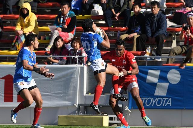 ジャパンラグビートップリーグカップ2018-2019第3節東芝ブレイブルーパス戦
