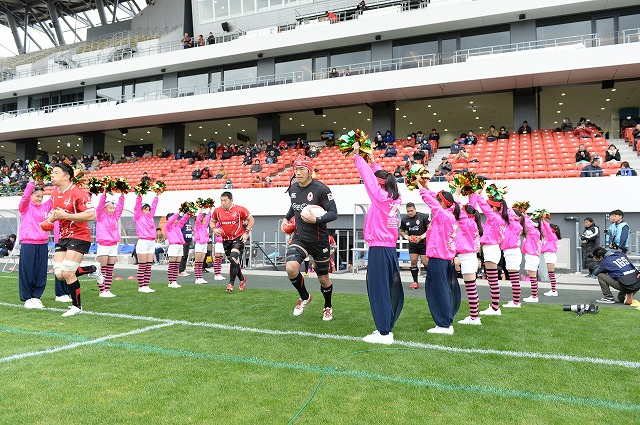 Japan Rugby Top League Cup 2018-2019 Overall ranking Tournament second round VS. HINO RED DOLPHINS