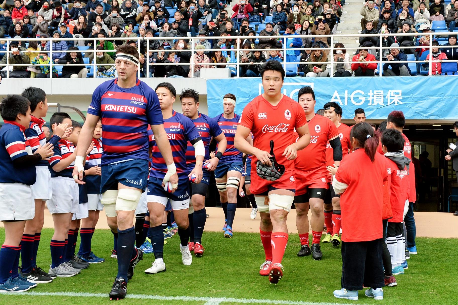 ジャパンラグビートップチャレンジリーグ2019第5節近鉄ライナーズ戦